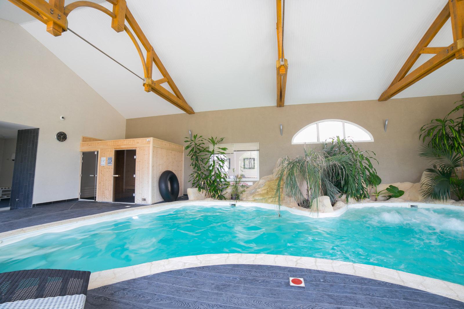 espace piscine sauna hammam hotel de la lou e